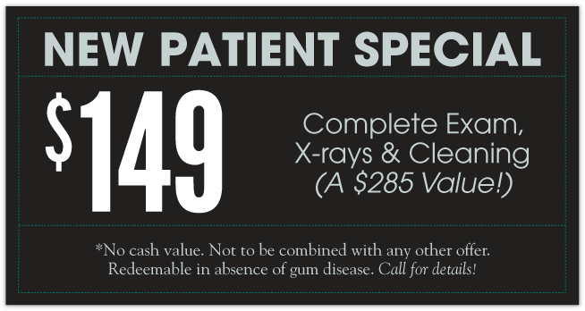 $149 Complete Exam, X-ray, and Cleaning (A $285 Value)